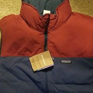 Mens Patagonia reversible downvest xl